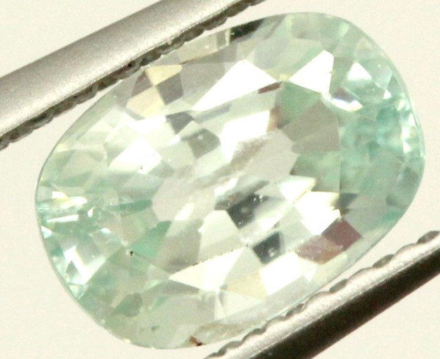BLUE ZIRCON FACETED STONE 1.10 CTS PG-1024