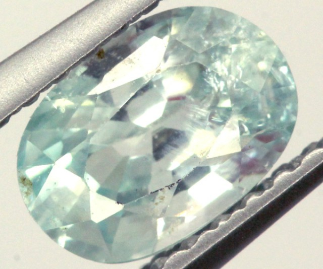 BLUE ZIRCON FACETED STONE 1.15 CTS  PG-1039