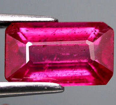 Gorgeous Glass treated African Ruby.