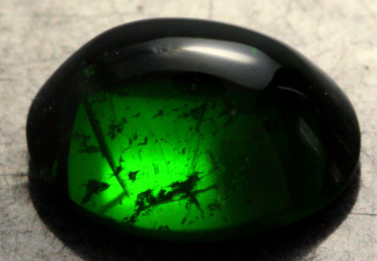 3.84 CTS CHROME DIOPSIDE CAB FROM RUSSIA [SB003]
