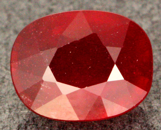 3.18 CTS BLOOD RED  AFRICAN RUBY [SB068]