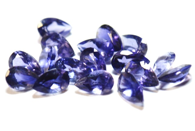 iolite calibrated gemstones parcel