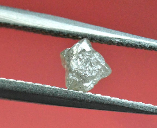 0.57ct 4.6mm silver white diamond crystal 4.6 by 4.6 by 4.6mm appr