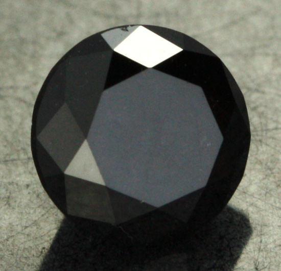1.150 CTS - CERTIFIED - STUNNING BLACK DIAMOND [BP35359]
