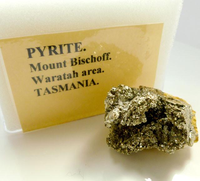 AUSTRALIAN PYRITE  201   CTS RT 1455
