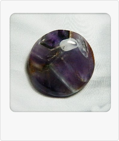 114.80cts Unique African Amethyst Cab Stone S90