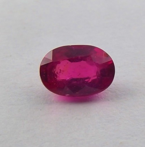 1.20ct Purple/Red Ruby from Madagascar