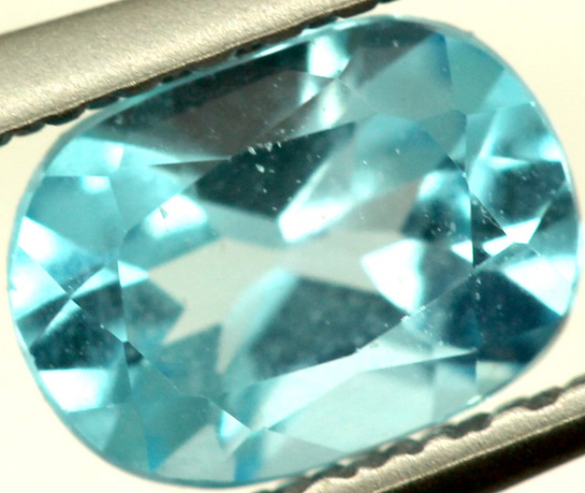BLUE TOPAZ NATURAL FACETED 0.75 CTS PG-871