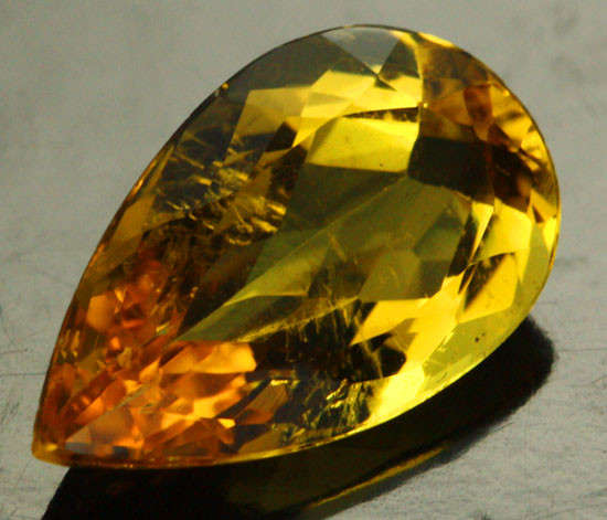 2 89 cts certified golden beryl heliodore stone