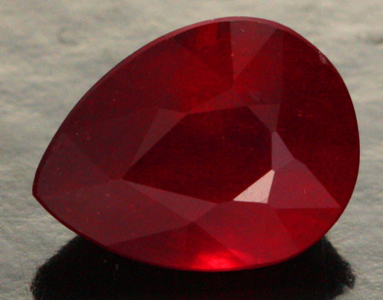 2.35 CTS CERTIFIED BLOOD RED AFRICAN RUBY [R35712]