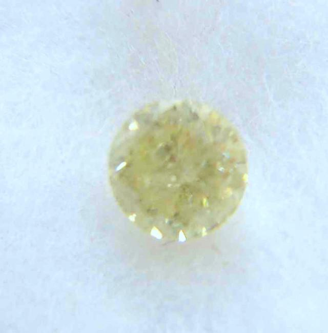 NATURAL-SOLITIARE FANCY YELLOW DIAMOND, 0.75CTWSIZE-1PCS,NR
