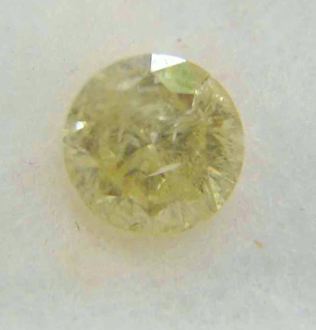 NATURAL-SOLITIARE FANCY YELLOW DIAMOND, 1.02CTWSIZE-1PCS,NR