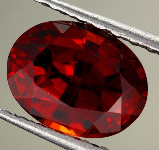 2.05 cts CERTIFIED Natural Spessartite Garnet (Y35665)
