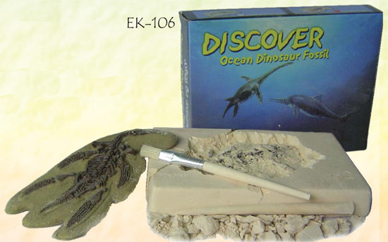 OCEAN DINOSAUR FOSSIL EXCAVATION KIT