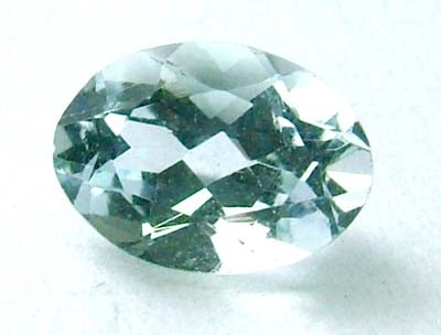 0.60 cts AQUAMARINE FACETED STONE  PG-1120