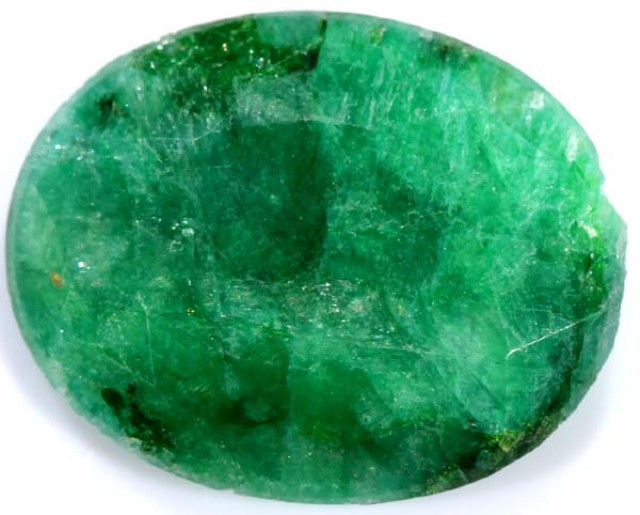 EMERALD FACETED GREEN STONE 5.50 CTS PG-730