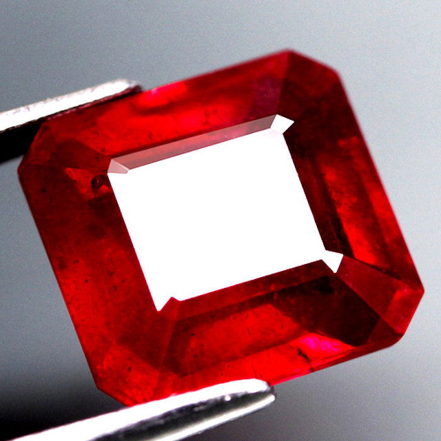 4.03 Carat Ruby, Pigeon Blood, Excellent