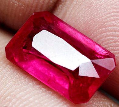 4.74 Carats Reddish Pink African Ruby - Gorgeous Gem