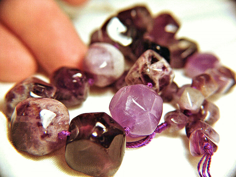 520 Tcw. Natural Amethyst Strand - 15.75in. - Colorful