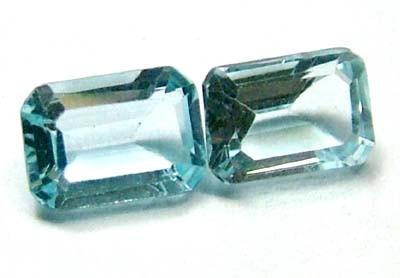 BLUE TOPAZ NATURAL FACETED (3 PCS) 2 CTS PG-890