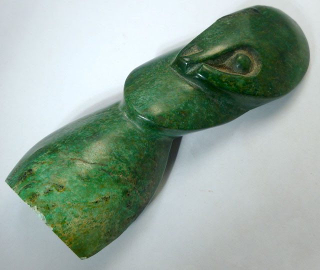 Cts carving verdite gemstone ms