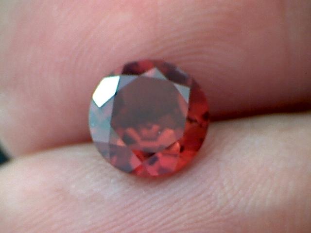 1.95 Ct Blood Red Brazilian Garnet VVS A Beauty (A336)