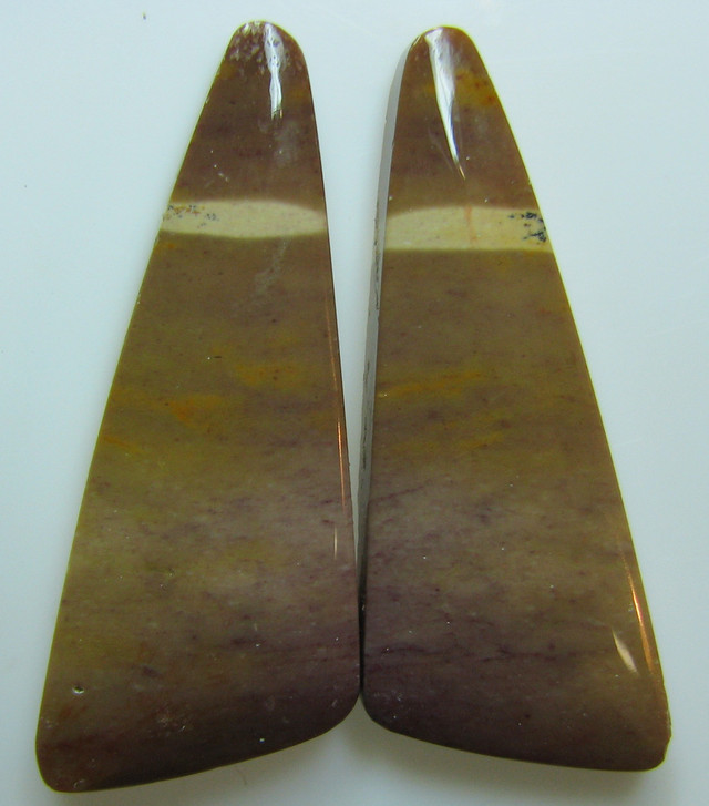 MOOKAITE AUSTRALIAN JASPER MATCHING PAIR OF STONE 32.85 CTS