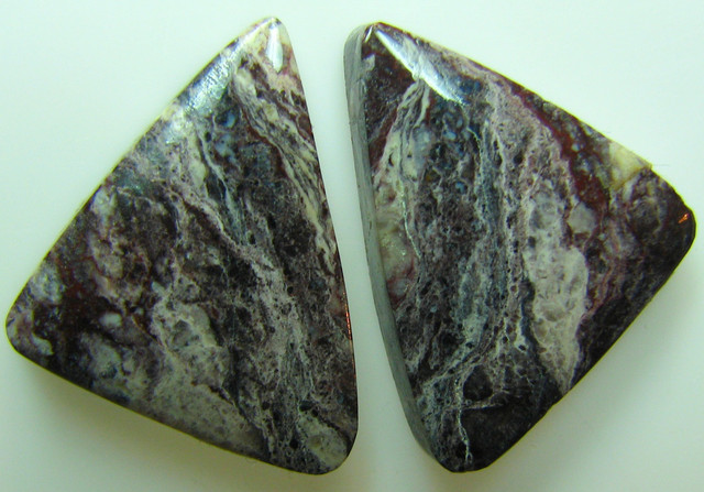 BANDED PATTERN JASPER PAIR 15.15 CTS