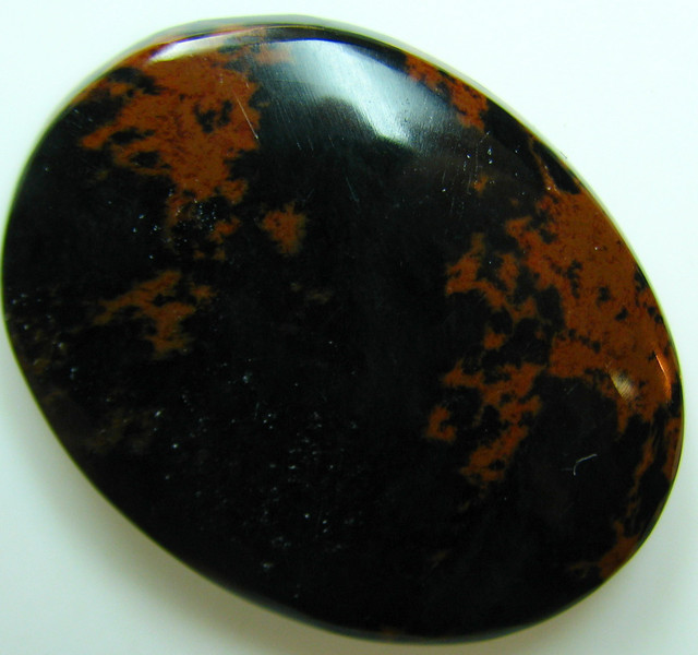 OBSIDIAN MECCA CABOCHON STONE 49.40 CTS