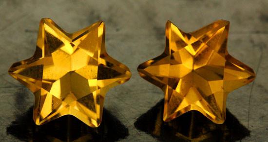 5.38 CTS FANTA ORANGE CITRINE STAR [S7474]