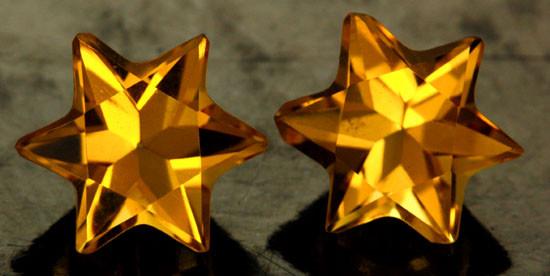 5.10 CTS FANTA ORANGE CITRINE STAR [S7479]