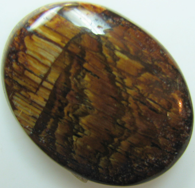 24.20 CTS BIGGS JASPER CABOCHON FROM UNITED STATES