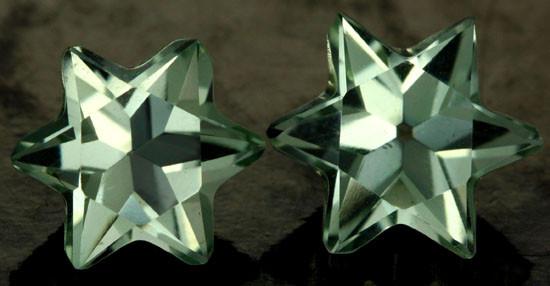 6.03 CTS VS PRASIOLITE STARS (PRASIOLITE) [S7496]