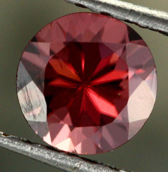 1.26 CTS CHOCOLATE ZIRCON-DIAMOND CUT [S7627]