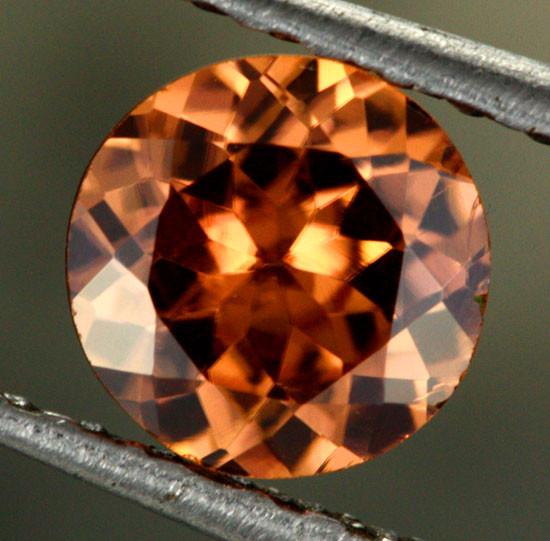 1.00 CTS CHOCOLATE ZIRCON-DIAMOND CUT [S7632]