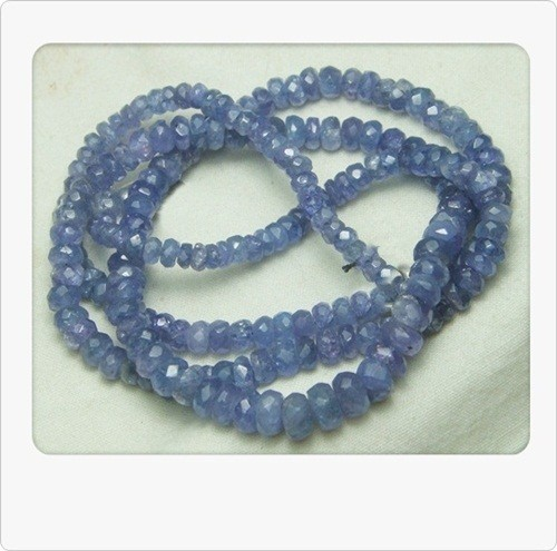 100% Natural Tanzanite Faceted Beads SC23