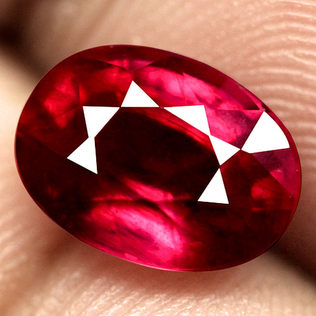 3.02 Carat Fiery Ruby - Superb Gem