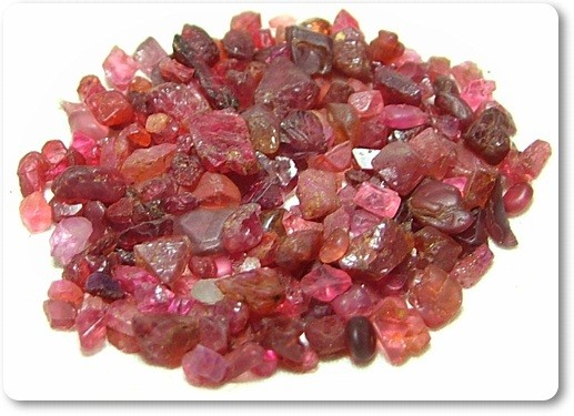 100% Untreated Natural Madagascar Red Spinel Rough R119