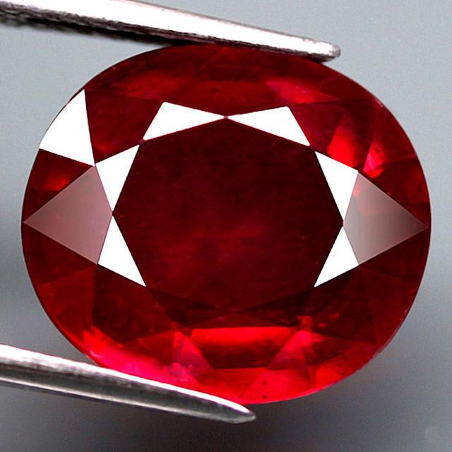 5 75 Carat Cherry Ruby Superb Fire Gorgeous Gem