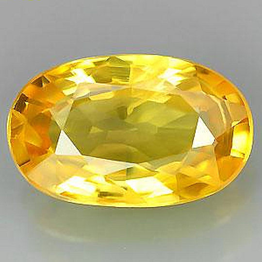 Beuatiful, natural Sapphire, this Gem has been heated.