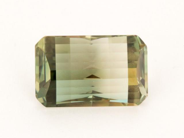 SALE WAS $2486 ~ 11.3ct Oregon Sunstone, Green/Gold Emerald Cut  (S182)