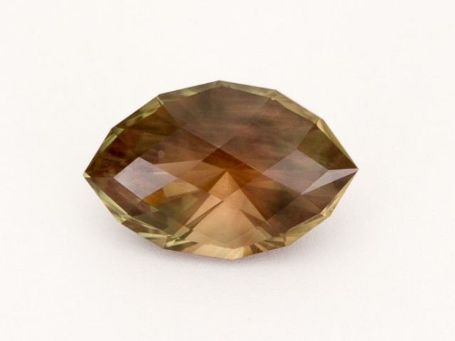 13.4ct Rootbeer Checkered Marquise Sunstone (S19)