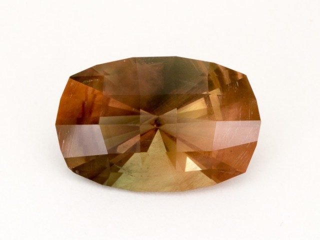 14ct Rootbeer Pointed Oval Sunstone (S246)