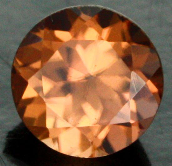 0.80 CTS CERTIFIED CHOCOLATE ZIRCON - DIAMOND CUT [ZCO37]