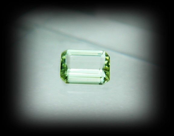 Top Grade Afghanistan Tourmaline Faceted Stone A909