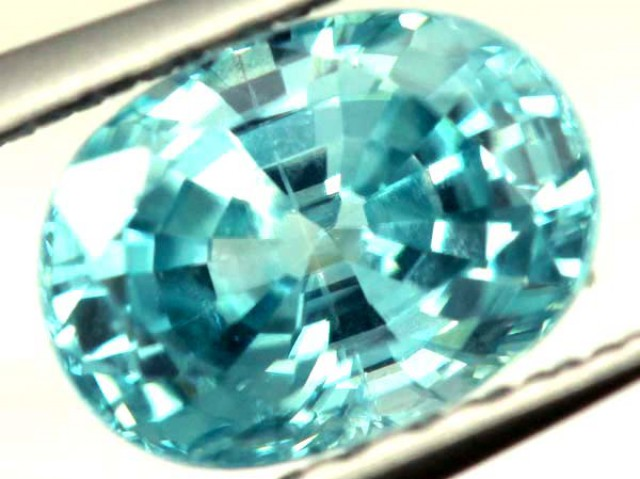 BLUE ZIRCON FACETED STONE 1.25 CTS  PG-1079