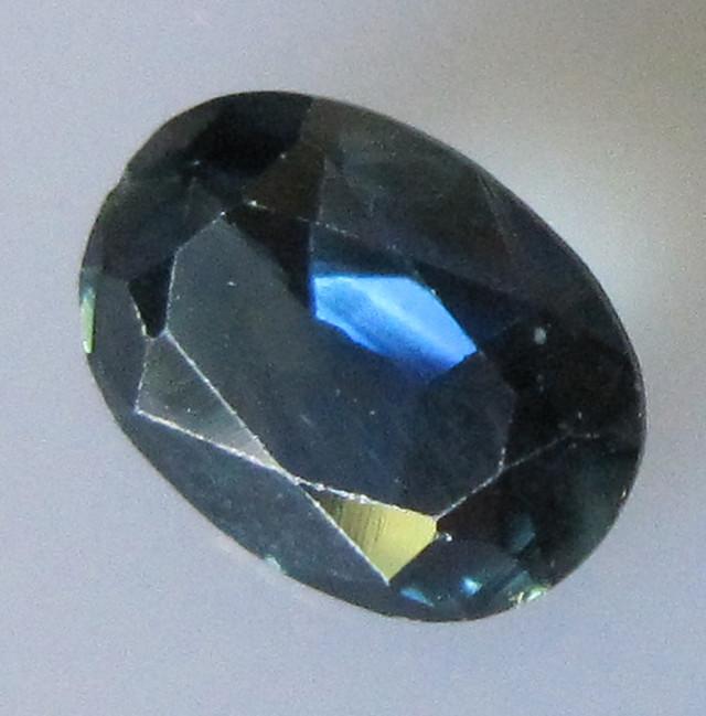 1.37cts Australian Blue Oval Sapphire