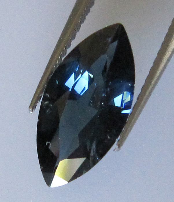 1.99cts Australian Marcquise Blue Sapphire