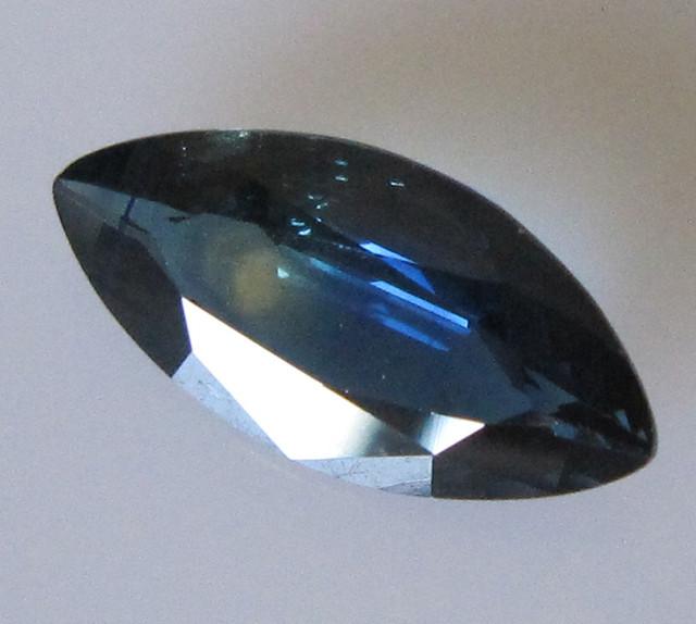 2.86cts Australian Marcquise Blue Sapphire