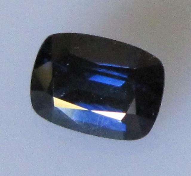 1.24cts Australian Cushion Shape Blue Sapphire